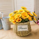 Bright Free-Form Silk Flower Decorations/Wedding Table Flowers - (123192862)