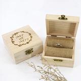 Individualisiert/Romantisch Holz Ring-Kasten (103206349)