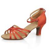 Vrouwen Satijn Sandalen Latijn Dansschoenen (053013191)