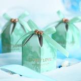 Beau en forme de diamant Carte papier Sacs cadeaux avec Rubans (Lot de 20) (050203425)