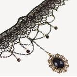 Mode Legierung Spitze Frauen Mode-Halskette (137053899)
