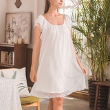 Modal/Tulle Girly Bridal/Feminine Sleepwear (041192095)