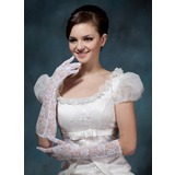 Spets Elbow Längd Handskar Bridal (014020498)
