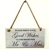 Delicato/Piazza del Progettazione Legno Wedding Sign (131186044)