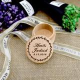 Elegante/Personalizado Madera Caja del anillo (103201141)