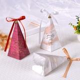 Momento Romantico Cubi Carta della carta Scatole di Favore con Nastri (Set di 50) (050197448)