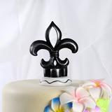 Flower-de-luce Resin Wedding Cake Topper (122036156)