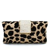 Fashional Velvet With Rhinestone Clutches (012016235)