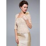 Half-Sleeve Lace besondere Anlässe Bolero (013033629)