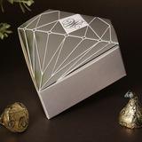 Diamant-Entwurf Geschenkboxen (Satz von 12) (050028076)