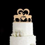 Personalizzato Renna Legno Decorazioni per torte (119187785)