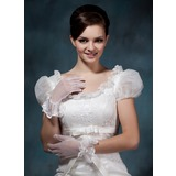 Voile Wrist Length Party/Fashion Gloves (014020482)