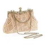 Mode Acryl/Perlstickerei Einkaufstaschen (012147198)