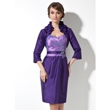 3/4-Length Sleeve Taffeta Special Occasion Wrap (013012440)
