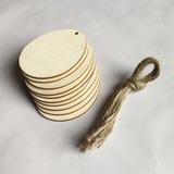 Simple/Niza Niza/Pretty Madera Ornamentaciones de Boda (juego de 10) (131178933)