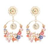 Alloy Resin Women's Fashion Earrings (137192481)