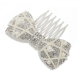Elegant Alloy/Imitation Pearls Combs & Barrettes (042055982)