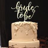 Sposa Da Essere Acrilico/Legno Decorazioni per torte (119205821)
