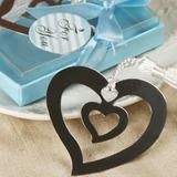 Hart Binnen A hart Roestvrij Staal Bladwijzers met Kwastje (051013607)