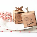 Classic Cuboid Card Paper Favor Boxes (Set of 100) (050197439)