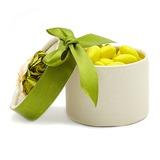 Zylinder Geschenkboxen mit Blumen/Bänder (Satz von 12) (050028066)