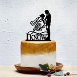 Estilo clásico/el amor es dulce Acrílico Decoración de tortas (119201349)