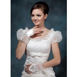 Satin Wrist Length Bridal Gloves/Flower Girl Gloves (014020507)