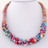 Exotic Braided Rope Ladies' Fashion Necklace (Sold in a single piece) (137197167)