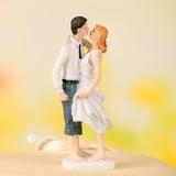 küssende Paare Harz Hochzeit Torten-Dekoration (119054554)