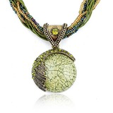 Exotic Alloy With Rhinestone/Beads/Opal Women's Necklaces (011035194)