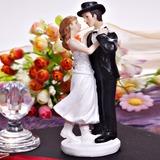 Balli di coppia Resina Matrimonio Decorazioni per torte (122036193)