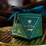 Dolce Amore figura del diamante Carta della carta Scatole di Favore con Nastri (Set di 30) (050197401)