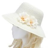 Härlig Konstsilke/Importerad Paper Blommor & Fjädrar (042052540)