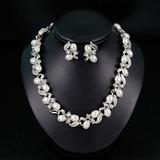 Elegant Alloy/Imitation Pearls With Imitation Pearls Ladies' Jewelry Sets (011200730)