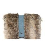 Mode Stoff mit Pelz Handtaschen/Mode-Hand (012032882)