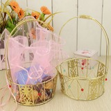 Korb Geschenkboxen/Kuchen-Kästen mit Bänder (Set von 2) (050032570)