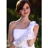 Elastic Satin Elbow Length Party/Fashion Gloves/Bridal Gloves (014003943)