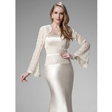 Long Sleeve Lace Special Occasion Wrap (013010112)