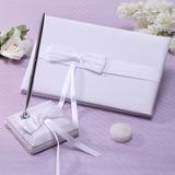 Elegante Nastri/Arco Guestbook & Set di penne (101037368)
