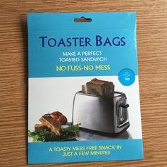 Moderno Clássico Non Stick Reuseable Toaster Bags para Sandwich e Grelhar (Conjunto de 3) Não Personalizado Presentes (129140471)