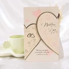Stile Cuore Tri-Fold Invitation Cards (Set di 50) (114032376)