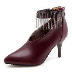 Donna Similpelle Tacco a spillo Stiletto scarpe (085172779)