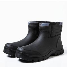 Maschile Gomma Stivali da pioggia Casuale Stivali da uomo (261172545)