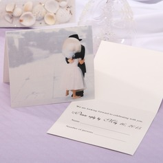 Personalized Fairytale Style Top Fold Response Cards (Set of 20) (114063916)