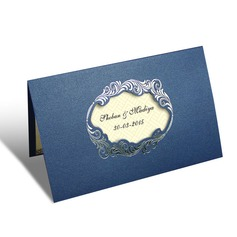 Personalized Artistic Style Top Fold Invitation Cards (Set of 20) (114062259)