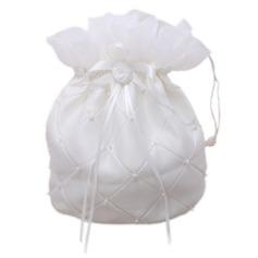 Charmant Satiné Sac de noce/Sacs de fille de fleur (012026337)