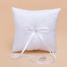 Ring Pillow With Ribbons/Rhinestones (103018447)