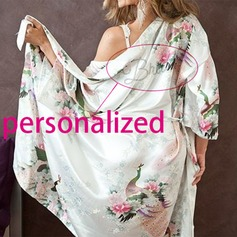 Personalized Nylon Bridal/Feminine  Robe  (12 letters or less)(041116926)