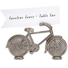 En forma de bicicletas Aleación de zinc Los Titulares de Tarjeta del Lugar (Juego de 4) (051057654)