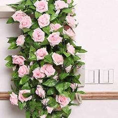 Rosa vite Fiore di seta (Set di 2) (131151583)